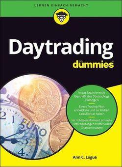 Daytrading für Dummies von Lamberty-Klaas,  Isabel, Logue,  Ann C.