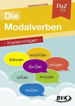 DaZ fit: Die Modalverben – Kopiervorlagen von Linnek,  Katharina