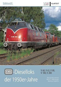 DB-Dieselloks der 1950er-Jahre von Kabelitz,  Andreas, Koschinski,  Konrad, Obermayer,  Horst J