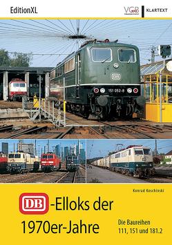 DB-Elloks in den 1970er-Jahren von Koschinski,  Konrad