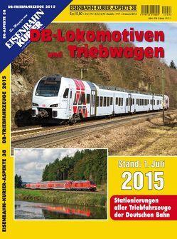 DB-Lokomotiven und Triebwagen – Stand 1. Juli 2015