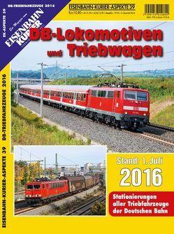 DB-Lokomotiven und Triebwagen – Stand 1. Juli 2016