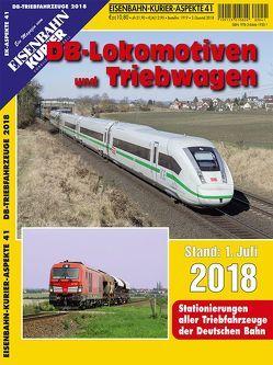 DB-Lokomotiven und Triebwagen – Stand 1. Juli 2018