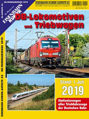 DB-Lokomotiven und Triebwagen – Stand 1. Juli 2019