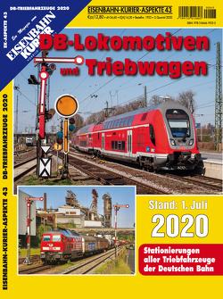 DB-Lokomotiven und Triebwagen – Stand 1. Juli 2020
