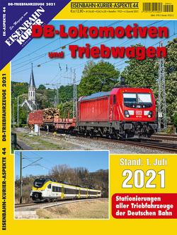 DB-Lokomotiven und Triebwagen – Stand 1. Juli 2021