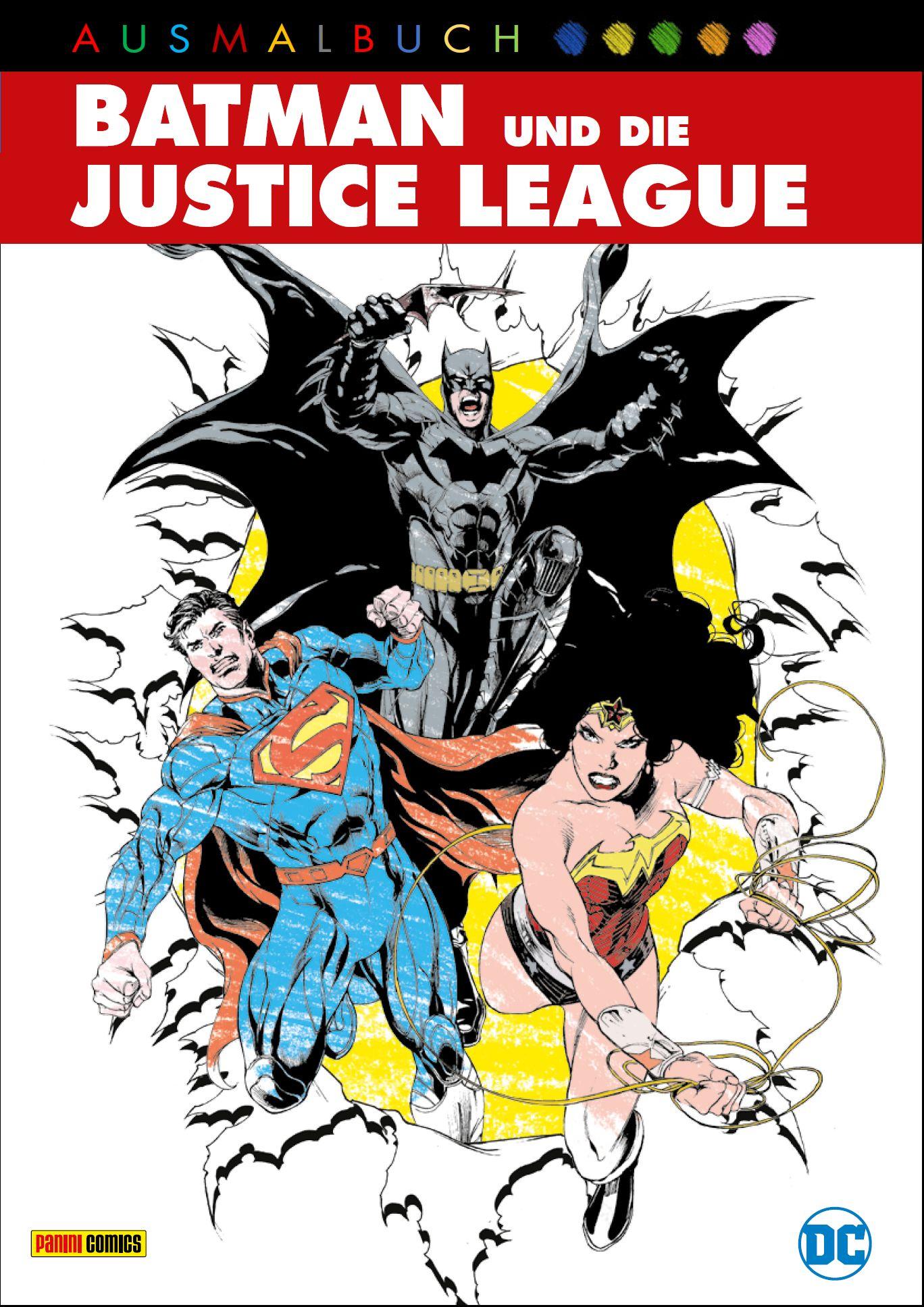 DC Malbuch: Batman & die Justice League von :