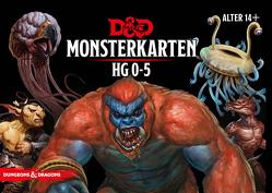 D&D: Monster Deck 0-5 (Deutsch) von Crawford,  Jeremy, Lee Robert,  Peter, Mearls,  Mike, Perkins,  Christopher, Schwalb,  J., Sernett,  Matt, Sims,  Chris, Thompson,  Rodney, Townshend,  Steve, Wyatt,  James