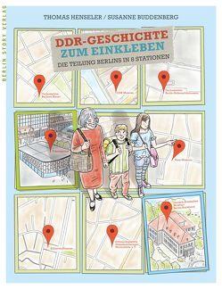 DDR-Geschichte zum Einkleben von Buddenberg,  Susanne, Henseler,  Thomas