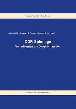 DDR-Spionage von Müller-Enbergs,  Helmut, Wegener Friis,  Thomas