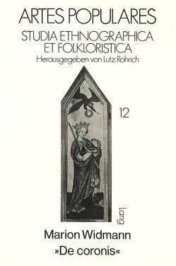«De coronis» von Widmann,  Marion