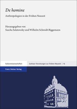 """De homine"" von Albrecht,  Jan-Luca, Salatowsky,  Sascha, Schmidt-Biggemann,  Wilhelm"