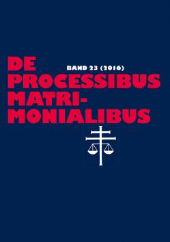De processibus matrimonialibus von Güthoff,  Elmar, Selge,  Karl-Heinz