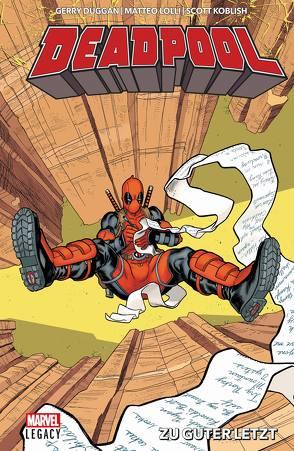 Deadpool – Legacy von Duggan,  Gerry, Koblish,  Scott