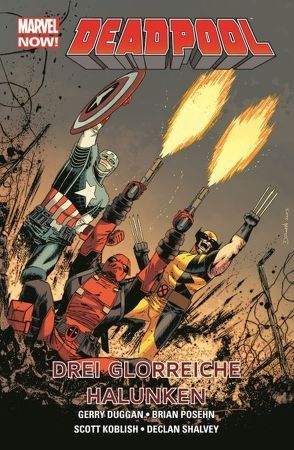 Deadpool – Marvel Now! von Duggan,  Gerry, Shalvey,  Declan