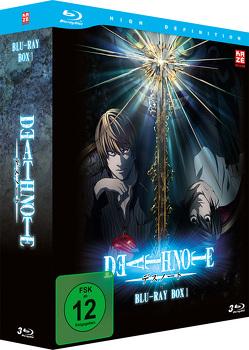 Death Note – Blu-ray-Box 1 (Episode 01-18) (3 Blu-rays) von Yanagi,  Shinsuke