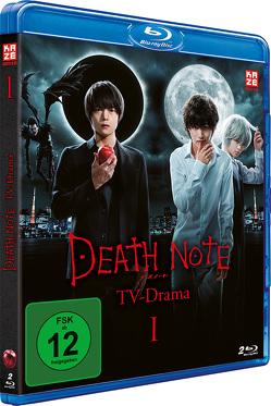Death Note – TV-Drama – Vol. 1 (2 Blu-rays) von Inomata,  Ryuichi, Iwasaki,  Marie, Nishimura,  Ryo