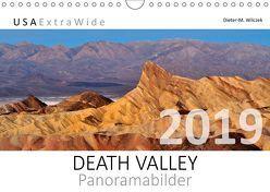 DEATH VALLEY Panoramabilder (Wandkalender 2019 DIN A4 quer) von Wilczek,  Dieter-M.
