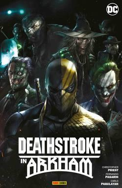 Deathstroke in Arkham von Benes,  Ed, Pasarin,  Fernando, Priest,  Christopher