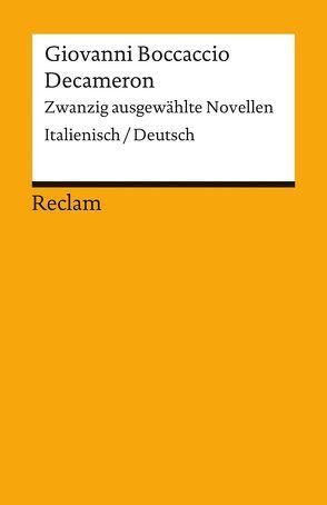 Decameron von Boccaccio,  Giovanni, Brockmeier,  Peter
