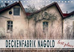 Deckenfabrik Nagold – lost place (Tischkalender 2020 DIN A5 quer) von Schöb,  Monika