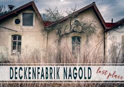 Deckenfabrik Nagold – lost place (Wandkalender 2020 DIN A2 quer) von Schöb,  Monika