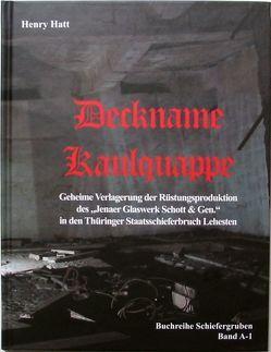 Deckname Kaulquappe von Hatt,  Henry
