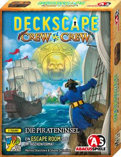Deckscape – Crew vs Crew – Die Pirateninsel von Bontempi,  Alberto, Chiacchiera,  Martino, Sorrentino,  Silvano