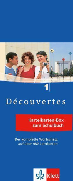 Découvertes 1 – Vokabel-Lernbox zum Schülerbuch