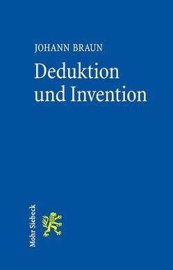 Deduktion und Invention von Braun,  Johann