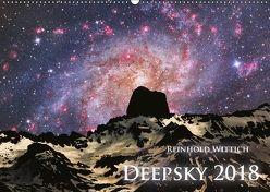 Deepsky 2018 (Wandkalender 2018 DIN A2 quer) von Wittich,  Reinhold