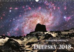 Deepsky 2018 (Wandkalender 2018 DIN A3 quer) von Wittich,  Reinhold