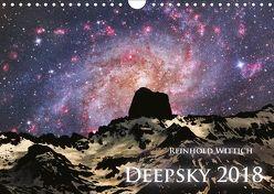 Deepsky 2018 (Wandkalender 2018 DIN A4 quer) von Wittich,  Reinhold