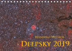 Deepsky 2019 (Tischkalender 2019 DIN A5 quer) von Wittich,  Reinhold