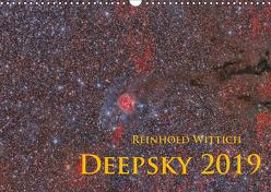 Deepsky 2019 (Wandkalender 2019 DIN A3 quer) von Wittich,  Reinhold