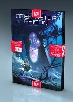 Deepwater Prison-Adventspaket: Band 1 – 3 zum Sonderpreis von Bec,  Christophe, Raffaele,  Stefano