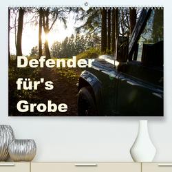 Defender für's Grobe (Premium, hochwertiger DIN A2 Wandkalender 2020, Kunstdruck in Hochglanz) von Ascher,  Johann