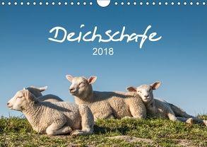 Deichschafe (Wandkalender 2018 DIN A4 quer) von Giesers,  Stephan