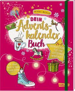Dein Adventskalender-Buch von Busch,  Nikki, Hahn,  Christiane