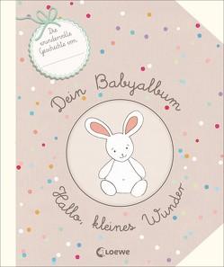 Dein Babyalbum – Hallo, kleines Wunder von Brauner,  Anne, Brepson,  Stephanie, Guyard,  Virginie