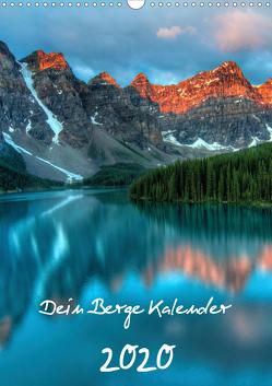 Dein Berge Kalender (Wandkalender 2020 DIN A3 hoch) von Widerstein - SteWi.info,  Stefan
