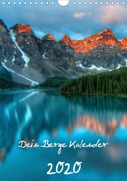 Dein Berge Kalender (Wandkalender 2020 DIN A4 hoch) von Widerstein - SteWi.info,  Stefan