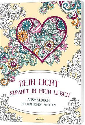 Dein Licht strahlt in mein Leben – Ausmalbuch von Christian Art Distributors