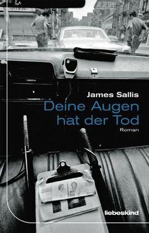 Deine Augen hat der Tod von Holzrichter,  Bernd W., Sallis,  James