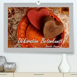 Dekorative Betonkunst (Premium, hochwertiger DIN A2 Wandkalender 2020, Kunstdruck in Hochglanz) von Hultsch,  Heike
