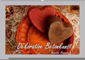 Dekorative Betonkunst (Wandkalender 2018 DIN A2 quer) von Hultsch,  Heike