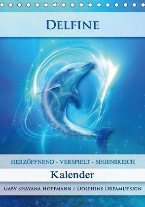 Delfine – Kalender (Tischkalender 2018 DIN A5 hoch) von Shayana Hoffmann,  Gaby