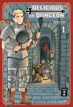 Delicious in Dungeon 01 von Kui,  Ryouko, Peter,  Claudia