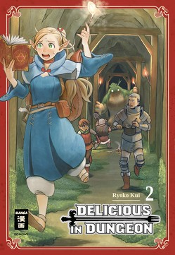 Delicious in Dungeon 02 von Kui,  Ryouko, Peter,  Claudia