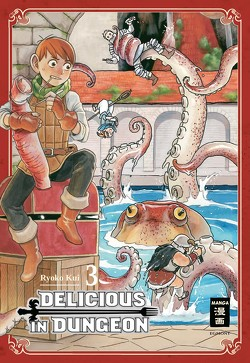 Delicious in Dungeon 03 von Kui,  Ryouko, Peter,  Claudia
